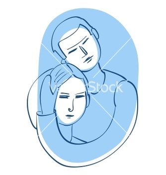Free young couple vector - Free vector #238663