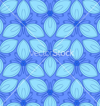 Free floral seamless pattern vector - Free vector #238703