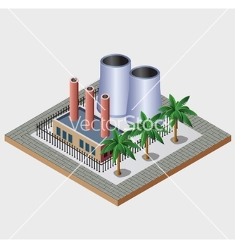 Free industrial town vector - Free vector #239003