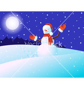 Free snowmen vector - Free vector #239123