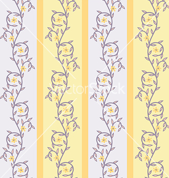 Free floral yellow vector - Free vector #239133