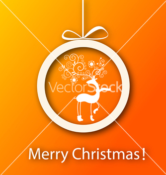 Free christmas greeting card vector - Kostenloses vector #239303