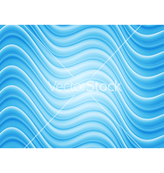 Free bright blue wavy template vector - vector #239533 gratis