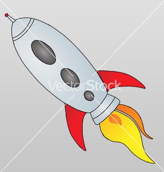 Free spaceship cartoon vector - Free vector #239683