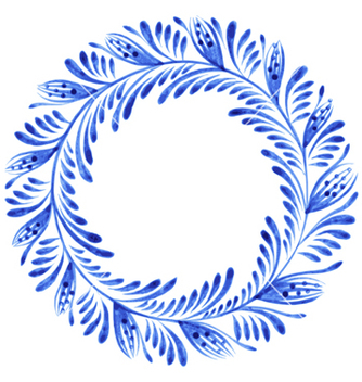 Free floral circle vector - Free vector #239763