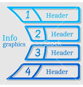 Free abstract numbered banners vector - Free vector #239793