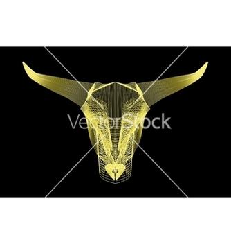 Free bull head vector - Free vector #239813