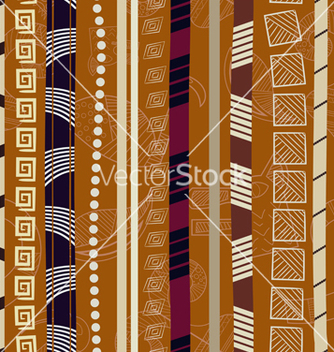Free tribal colorful seamless texture vector - Free vector #240043