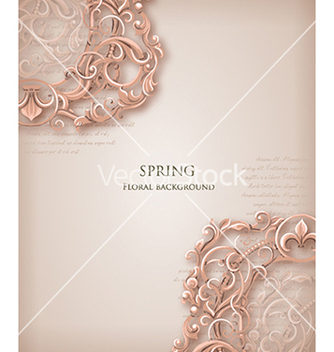 Free floral background vector - Kostenloses vector #240163