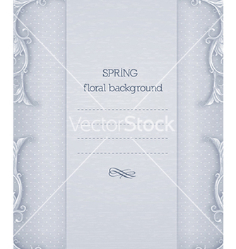 Free floral background vector - Free vector #240223