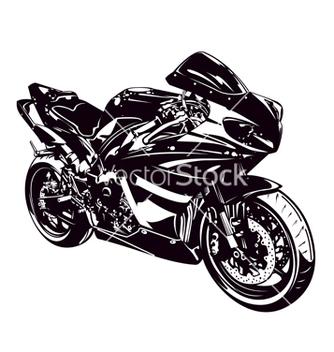 Free sport motorbike vector - Free vector #240473