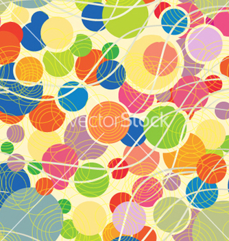 Free colorful pattern with geometric shapes vector - vector #240773 gratis