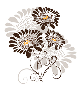 Free floral design vector - Free vector #242203