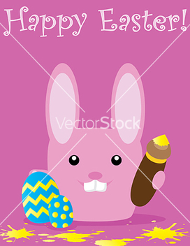Free easter card vector - Free vector #242273