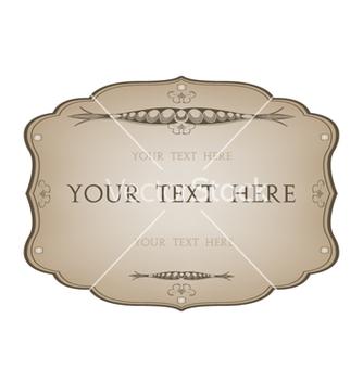 Free vintage label vector - Free vector #242433