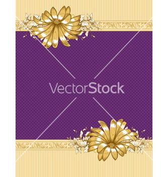 Free vintage floral frame vector - Free vector #242803