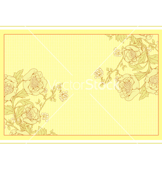Free invitation with floral vector - Kostenloses vector #242873