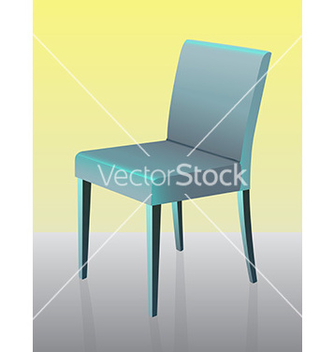 Free modern dining chair vector - Free vector #243023