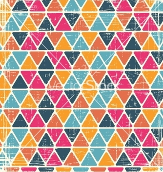 Free retro seamless geometric pattern vector - бесплатный vector #243033