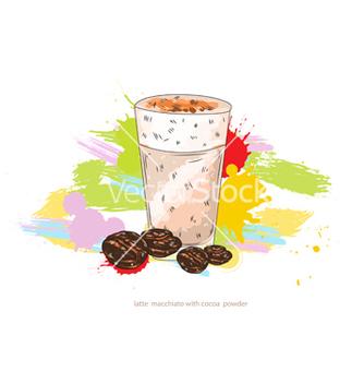 Free latte macchiato vector - Free vector #243223