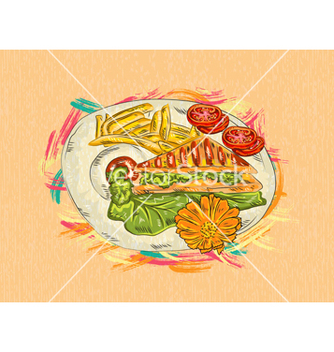 Free cooked food vector - Kostenloses vector #243313