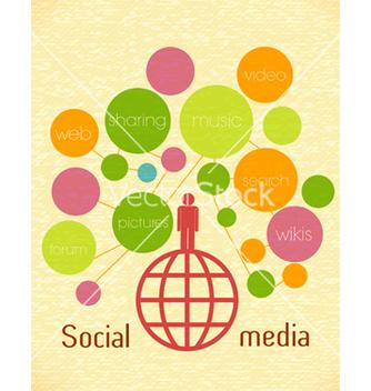 Free social media concept vector - Free vector #243413