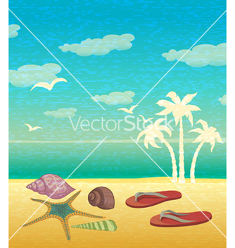 Free summer background vector - Free vector #243633