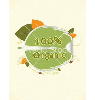 Free eco friendly sticker vector - Free vector #243653