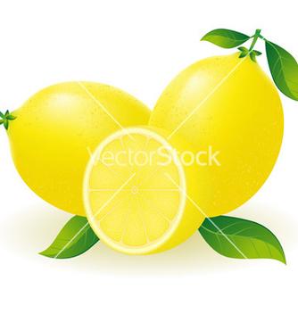 Free lemon vector - Free vector #243743