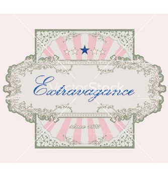 Free grunge floral label vector - Free vector #244143