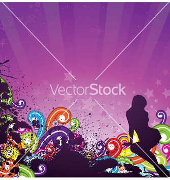 Free abstract background vector - Free vector #244293