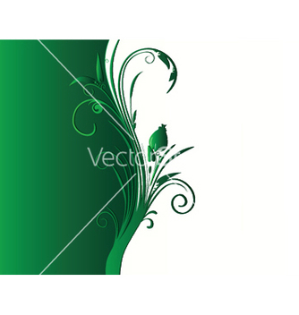 Free abstract background with floral vector - Free vector #244823