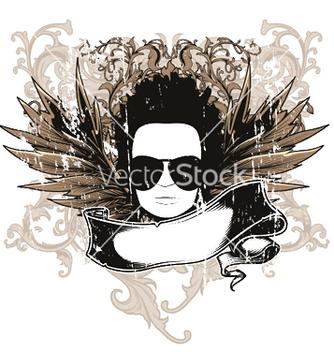 Free music emblem vector - Kostenloses vector #245613