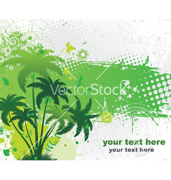 Free summer floral background vector - Free vector #245683