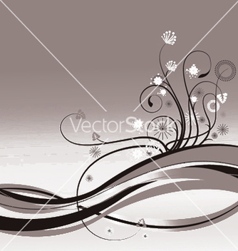 Free abstract floral background vector - Free vector #246163