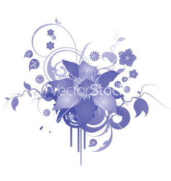 Free abstract floral vector - Free vector #246173