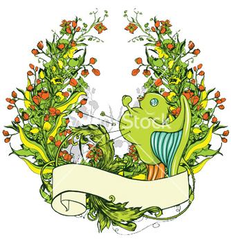 Free floral frame vector - Kostenloses vector #246193