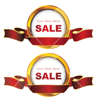 Free gold label vector - Kostenloses vector #246273