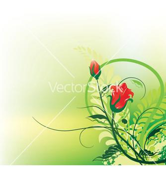 Free splash floral background vector - Kostenloses vector #246493