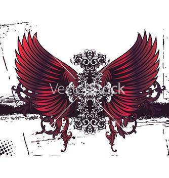 Free baroque floral vector - Free vector #246743