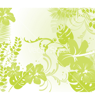 Free abstract floral background vector - Free vector #246903