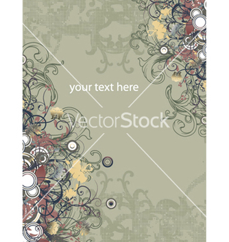 Free vintage floral background vector - Kostenloses vector #247023