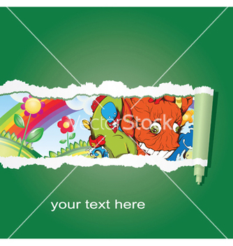 Free abstract background with funny monsters vector - Free vector #247503