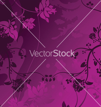 Free splash floral background vector - vector #247543 gratis