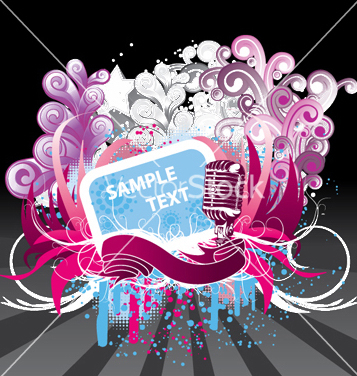 Free concert poster vector - Free vector #247663