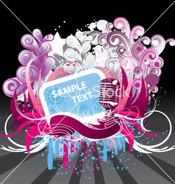 Free concert poster vector - бесплатный vector #247663