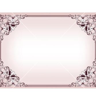 Free baroque floral frame vector - vector gratuit(e) #247783