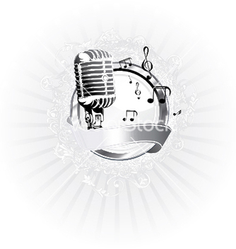 Free music poster vector - Free vector #247813