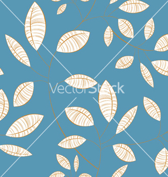 Free seamless floral background vector - Free vector #248193