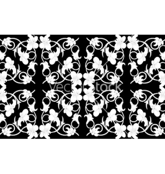 Free seamless floral pattern vector - Free vector #248303
